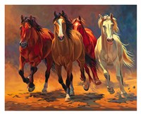 Hoofbeats and Heartbeats Fine-Art Print