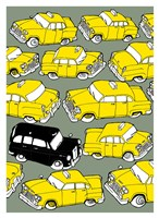 Odd Ones - Black Cab Fine-Art Print