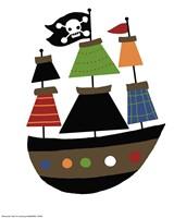 Pirate Ship Fine-Art Print