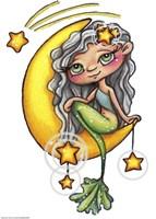 She Hangs the Stars Fine-Art Print