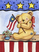 Patriotic Bear Fine-Art Print