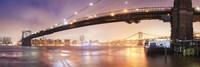 Brooklin Bridge Pano 1 Fine-Art Print