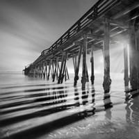 Pier and Shadows Fine-Art Print