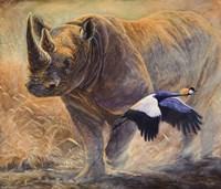African Thunder Fine-Art Print