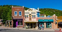 Buildings along Main Street, Park City, Utah Fine-Art Print
