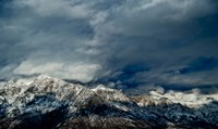 Clouds over the Wasatch Mountains, Utah, USA Fine-Art Print