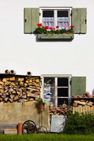 Farmhouse, Lenggries, Bavaria, Germany Fine-Art Print