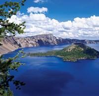 Crater Lake at Crater Lake National Park, Oregon Fine-Art Print