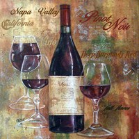 Napa Valley Pinot Lettered Fine-Art Print