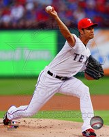 Yu Darvish 2014 in Action Fine-Art Print