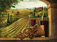 Vineyard Window Fine-Art Print