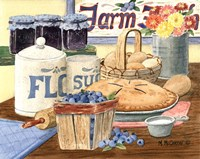 Blueberry Pie Fine-Art Print
