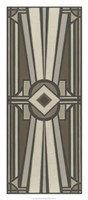 Neutral Deco Panel II Fine-Art Print