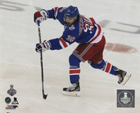 Mats Zuccarello Game 4 of the 2014 Stanley Cup Finals Action Fine-Art Print