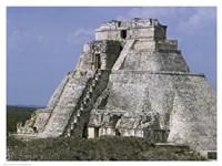 Mayan Pyramid of the Magician Uxmal Fine-Art Print