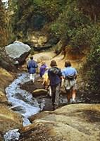 Hiking Hells Gate Kenya Africa Fine-Art Print