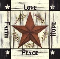 Barn Star Sentiments Fine-Art Print