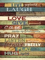 Live Joyfully Fine-Art Print