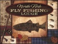 Fly Fishing Lodge Fine-Art Print