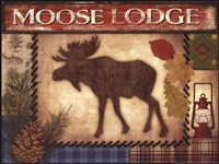 Moose Lodge Fine-Art Print
