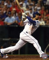 Eric Hosmer Baseball Bat Swing Fine-Art Print