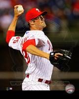 Cole Hamels Baseball Pitching Fine-Art Print