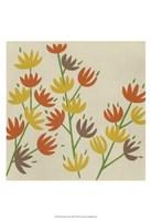 Retro Blossoms III Fine-Art Print