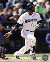 Robinson Cano Running For Plate Fine-Art Print