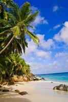 Anse Victorin Beach, Fregate Island, Seychelles Fine-Art Print