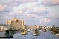 15th Century Castle, Fort Qait Bay, Alexandria, Egypt Fine-Art Print