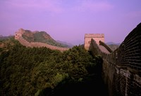 Morning View of The Great Wall of China, Beijing, China Fine-Art Print