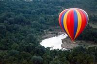 Kenya, Maasai Mara, Mara River, Hot-Air Ballooning Fine-Art Print