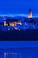 MOROCCO, Rabat: Kasbah des Oudaias, Oued Bou Regreg Fine-Art Print