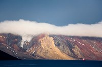 Mountainous Deception Island, Antarctica Fine-Art Print