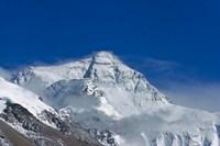 Snowy Summit of Mt. Everest, Tibet, China Fine-Art Print