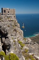 South Africa, Cape Town, Table Mountain, Tram Fine-Art Print