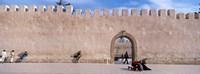 Square in Ancient Walled Medina, Essaouira, Morocco Fine-Art Print
