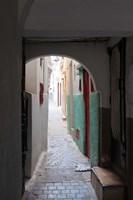 Street in the Kasbah, Tangier, Morocco Fine-Art Print