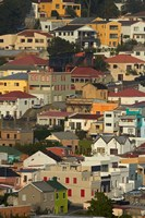 Suburb of Bo-Kaap, Cape Town, South Africa Fine-Art Print