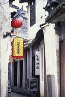 Traditional Architecture in Ancient Watertown, China Fine-Art Print