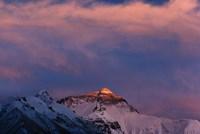 Sunset on Mt. Everest, Tibet, China Fine-Art Print