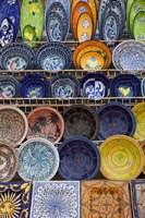 Tunisian pottery, Port El Kantaoui, Tunisia Fine-Art Print