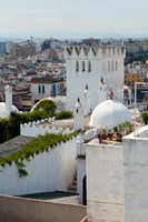 View of Tangier from the Medina, Tangier, Morocco Fine-Art Print