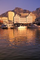 Victoria and Albert Waterfront Center, Cape Town, South Africa Fine-Art Print