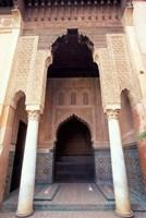Zellij (Mosaic Tilework) at the Saddian Tombs, Morocco Fine-Art Print