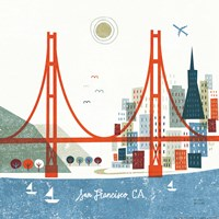 Colorful San Francisco Fine-Art Print