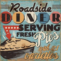 Diners and Drive Ins II Fine-Art Print