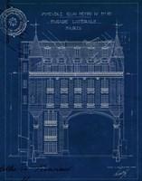 Quai Henri Blueprint II Fine-Art Print
