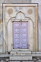 Lavender colored door, Taj Mahal, Agra, India Fine-Art Print