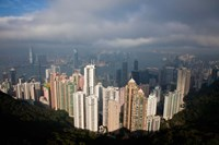 View From The Peak, Hong Kong, China Fine-Art Print